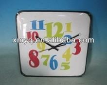 Fancy Design Cheap Plastic round plastic wall clock