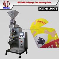 Round Ends Stick Sachet Packing Machine, DXD-300T HONDON brand, for granule, powder,sauce, liquid, 40ml