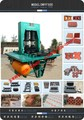 Vente chaude! Entièrement automatique hydraulique de presse cj-600 tuiles./de brique de ciment faisant la machine