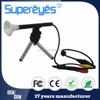 200X manual focus digital AV output TV microscope for TV monitor