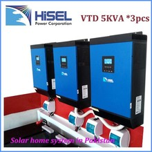 HiSEL brand high frequency solar micro inverter solar panel system