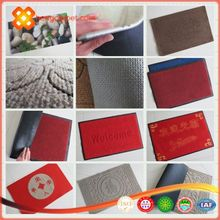 Hot sale waterproof PVC door mat,rubber floor mat from china supplier