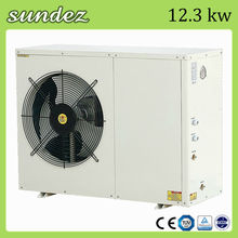 Sundez air to water heat pump split (R410A) CE approval for house heating