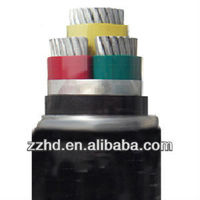 low voltage cable xlpe insulated pvc jacket aluminum cable 185mm2