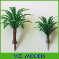 model outdoor artificial palm trees plastic palm trees for garden