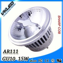 Dimmable AR111 GU10 2700K 15W AR111 LED spot light,GU10 AR111 LED