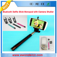 sell better than KJSTAR Z07-5 wireless bluetooth selfie stick with bluetooth shutter button remote