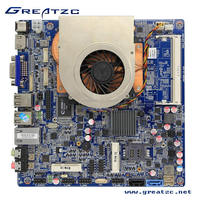 ZC-ION4-1037 DC 12V Mini Itx Motherboard onboard NVIDIA GT630 2GB Memory,1037U Dual Core Motherboard with SIM Card Slot