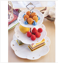 2015 colorful acrylic cupcake holder acrylic afternoon Tea Cake Stand/