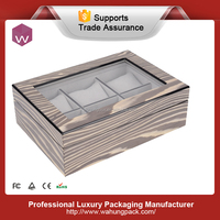 High end wooden gift box for watches( WH-S-068)