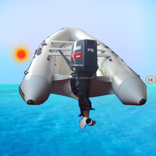 520cm Inflatable fiberglass Boat for 10 persons for fishing, rescue and entertainment use