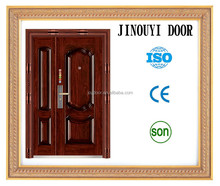 steel security door made in china/nigeria steel door( JOY-S069 )