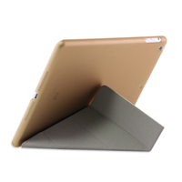 Good Quality Fashion Many folded styles Slim PU smart cover case wholesale for apple ipad 5 leather case