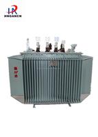 power usage 3 phase oil type transformer S9-M-1600 11KV/0.4KV