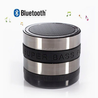 Bluetooth Speaker Mini Portable Wireless loudspeaker 360 degree Rotation volume control Super Bass music player bluetooth TF Car