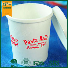 hot disposable paper cups, noodle container,soup cups with paper lids