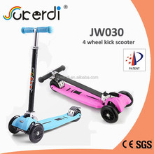 New Patent foldable wholesale mini maxi 4 wheel import skate scooter for kids