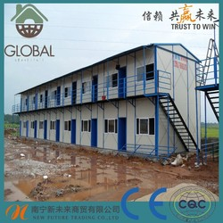 Flexible Layout 50mm EPS sandwich panel mobile prefab house