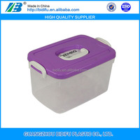 Useful plastic storage box for clothes Customized plastic storage box, hard plastic box for storage