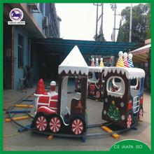 children ride christmas games track train