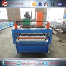 making machine hinge best selling double deck metal roofing sheet molding machinery