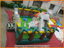 fire retardant PVC inflatable combo obstacle for playground