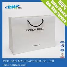 China wholesale cheap fashion Reusable Paper Tote Bag