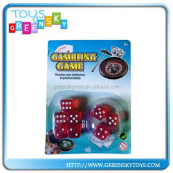 2015 New Transparent Dice,Hot Sale Dice Game,High Quality playing dice
