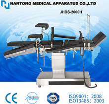 CE,ISO certified JHDS-2000H C arm operation table ,Electric Operating Table