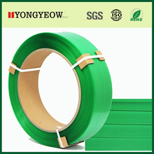 Green PET Strapping Band Polyester Strap Band Manufacturer