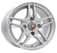 small size 13x5.5 china rim alloy wheel flat light grey car rims