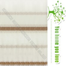 Embroidered linen home hotel cafe fabric curtain