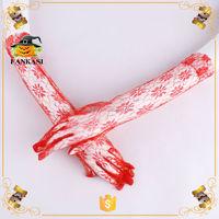 Sexy Opera length stretch rose pattern cheap lace gloves