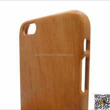 Wooden case for cell phone for iphone 6 plus,bamboo mobile phone case cover