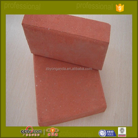 red clay brick dimensions used for pavers