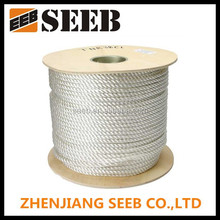 High-end 3-strand color nylon rope price nylon braided rope for Sale
