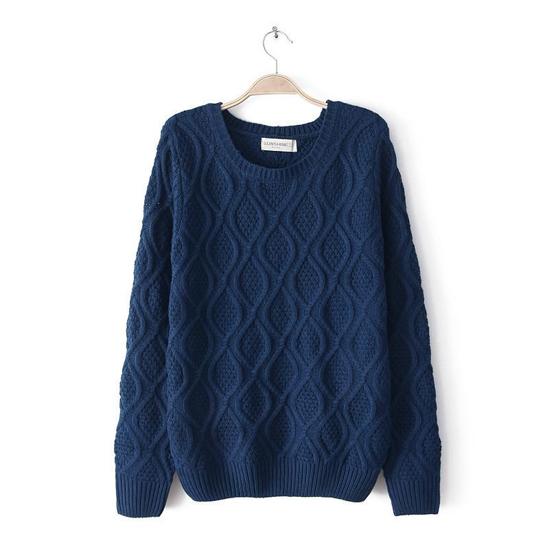 Knitting Fashion 2015 : New fashion design knit sweaters modern knitting