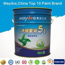 anti-alkali exterior flat latex paint