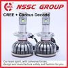 24 Months Warrnty 5000LM Per Bulb Auto Car CREE LED Headlight with Canbus Decoder
