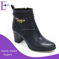 wholesale new model girls shoes women winter ankle boots high heels