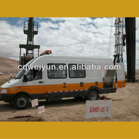 Wellhead Mobile Pipe Hydrostatic Pressure Test Equipment for Oil Well Drilling Operation
