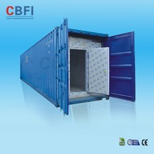 Insulation frozen meat and fish cold room compressor