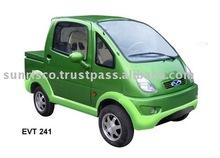 Postal service car. e-Van. EV. LSV. e-car
