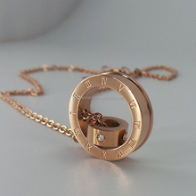 New model Bronze necklace plain chain