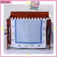 100%Cotton Patchwork Quilt Juvenile Quilt Blue Elephant Quilt