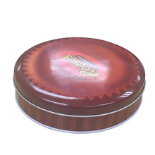 Wholesale round tin box for food packaging
