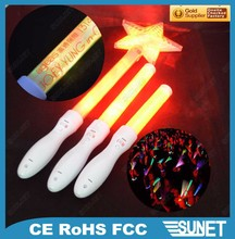Multi-functional regular flashing or remote control light stick party