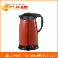 CE & RoHs 1.8L cordless thermal electric water kettle heat preservation, wide mouth kettle