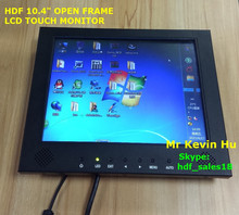 touch screen monitor, 10.4 lcd touch screen, 5 wire resistive touch for bank automation atm, industrial control and kiosk