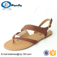 Buckle strap Casual patent leather ladies shoes